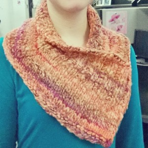 Beautiful, warm cowl