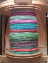 finished spinning